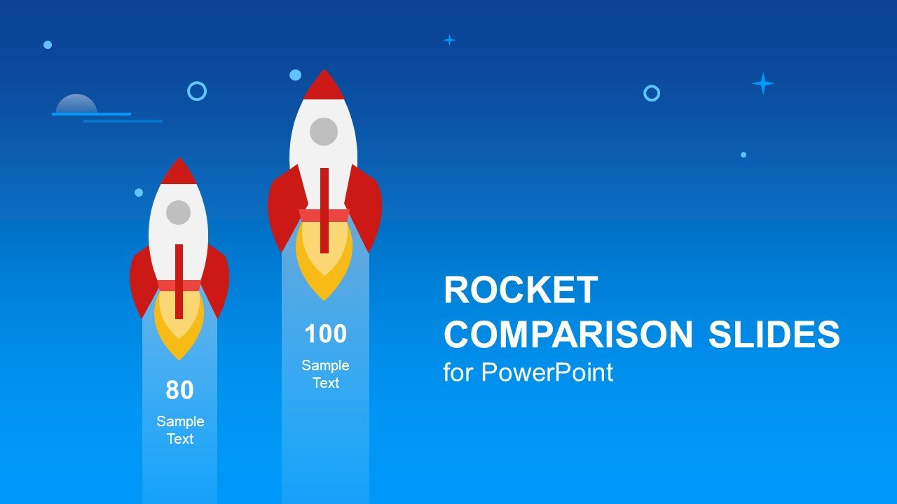 Rocket PowerPoint template design