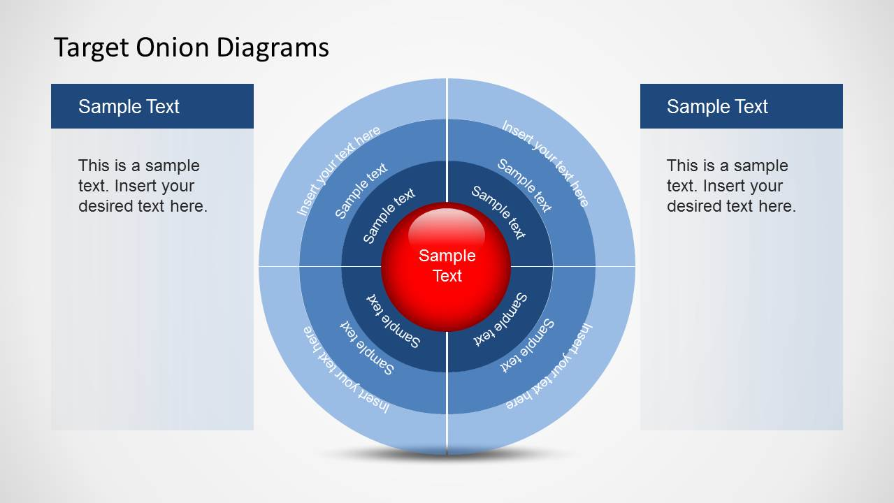 7 best target diagrams for powerpoint