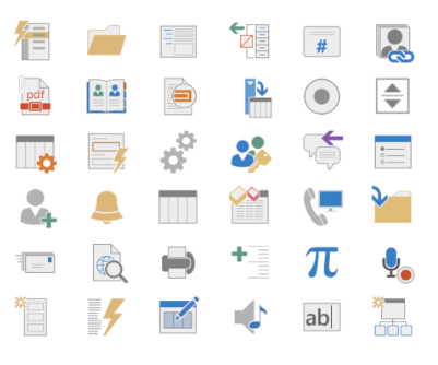 Access Hundreds of Icons