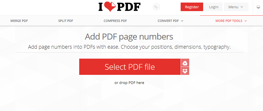 Add PDF Page Numbers Easily