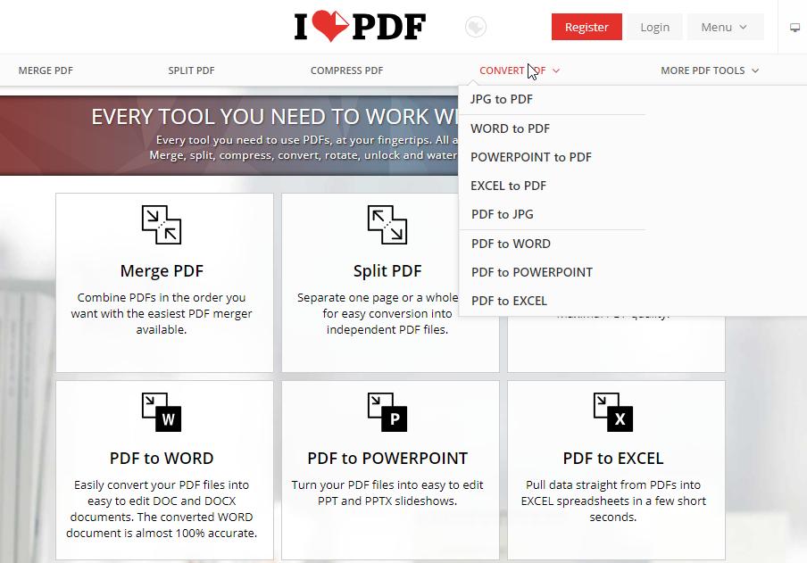 ilovepdf merge pdf
