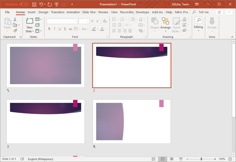 Hide Slide Preset in PowerPoint