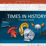 Animated Times in History PowerPoint Template