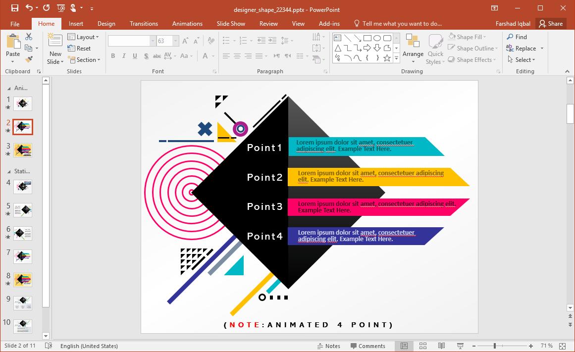 Designer PowerPoint Template
