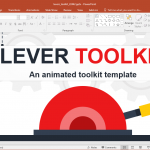 Animated Levers PowerPoint Template