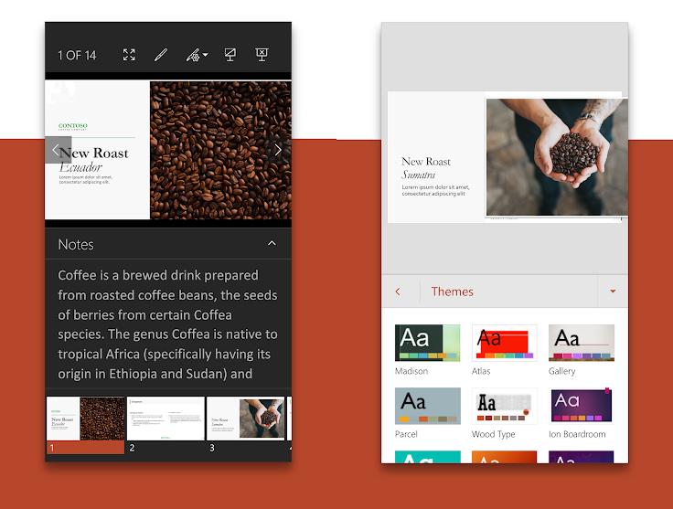 PowerPoint App for Smartphones