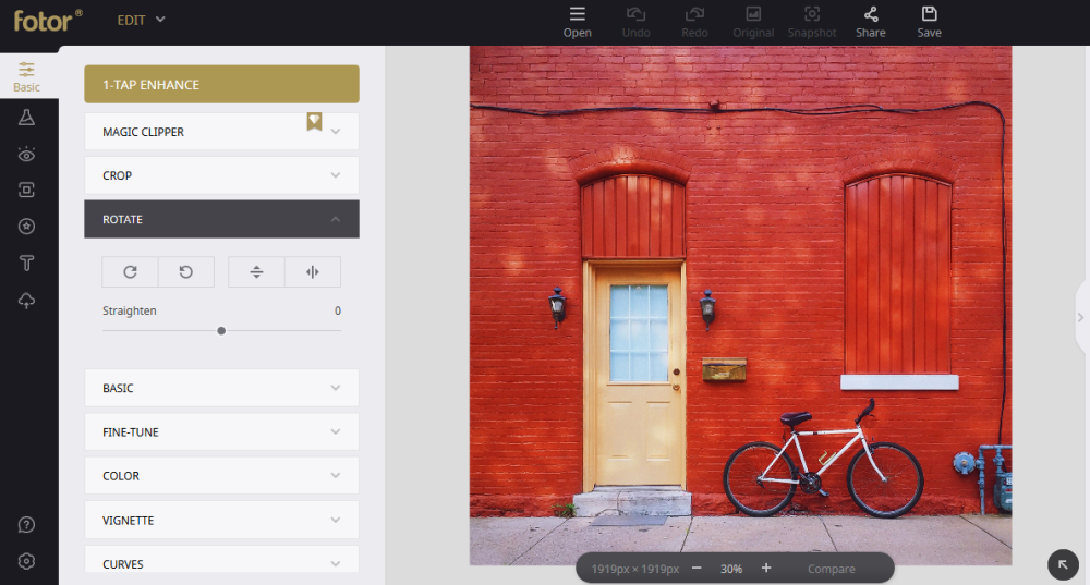 Optimizing Product Images for Your Online Shop with Fotor