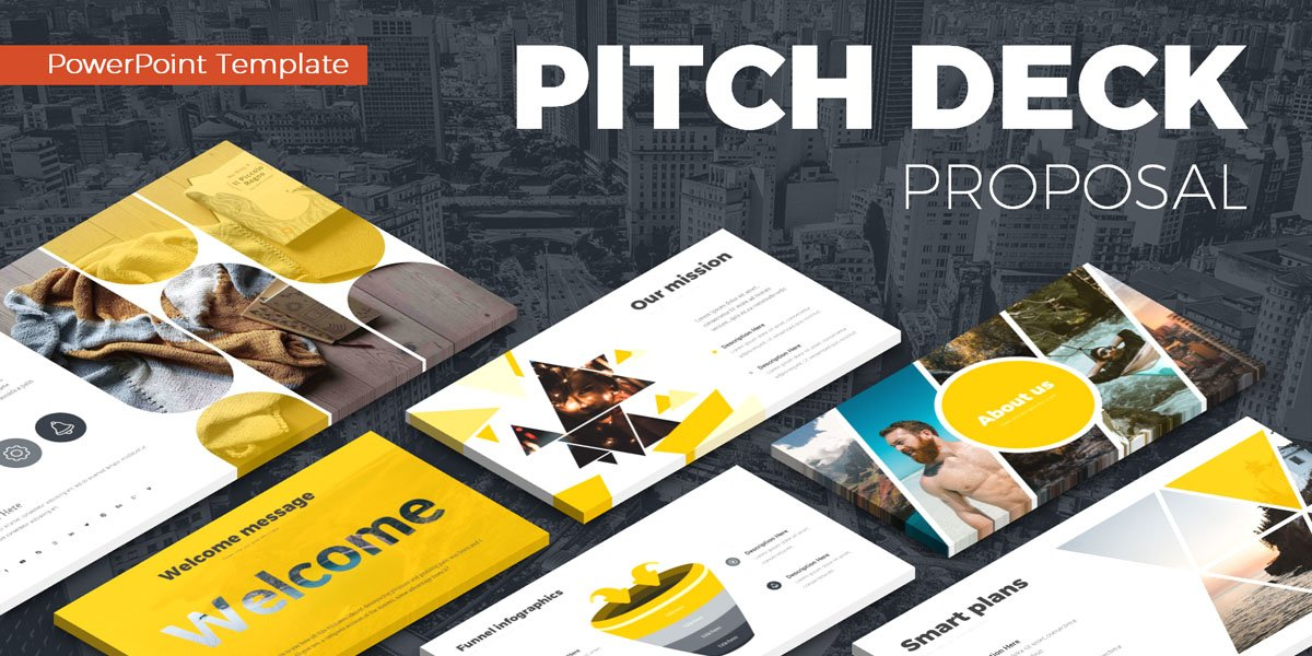 Best Pitch Deck Proposal Templates for Microsoft PowerPoint