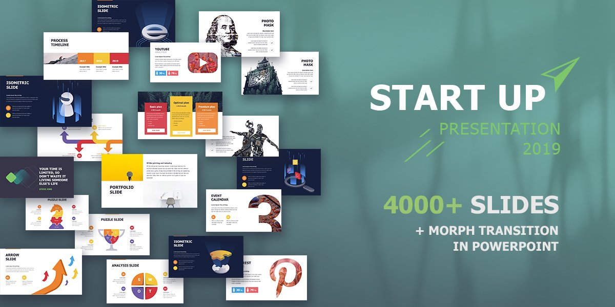 Best Startup PowerPoint template
