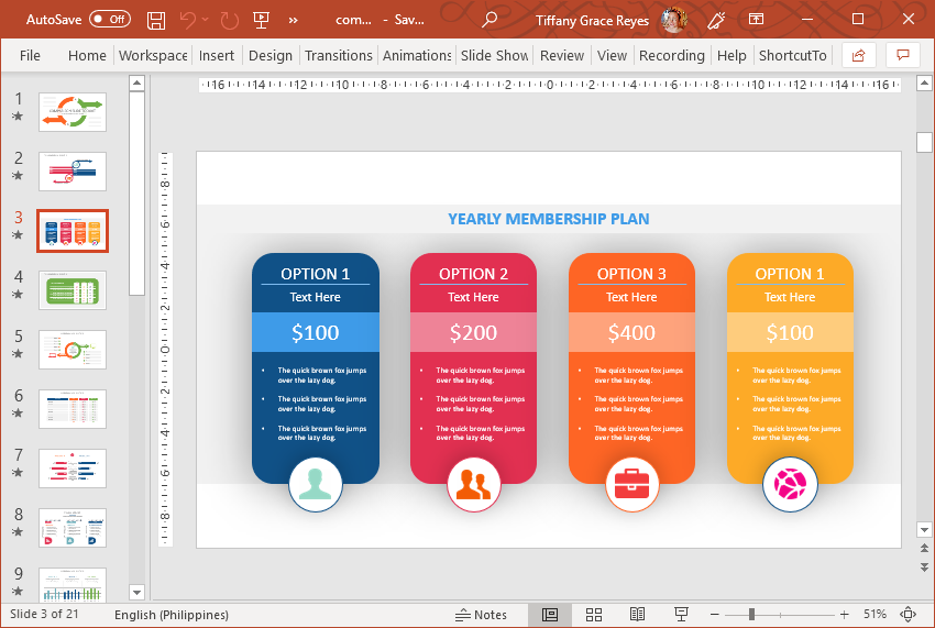 Comparative Analysis Toolkit for PowerPoint