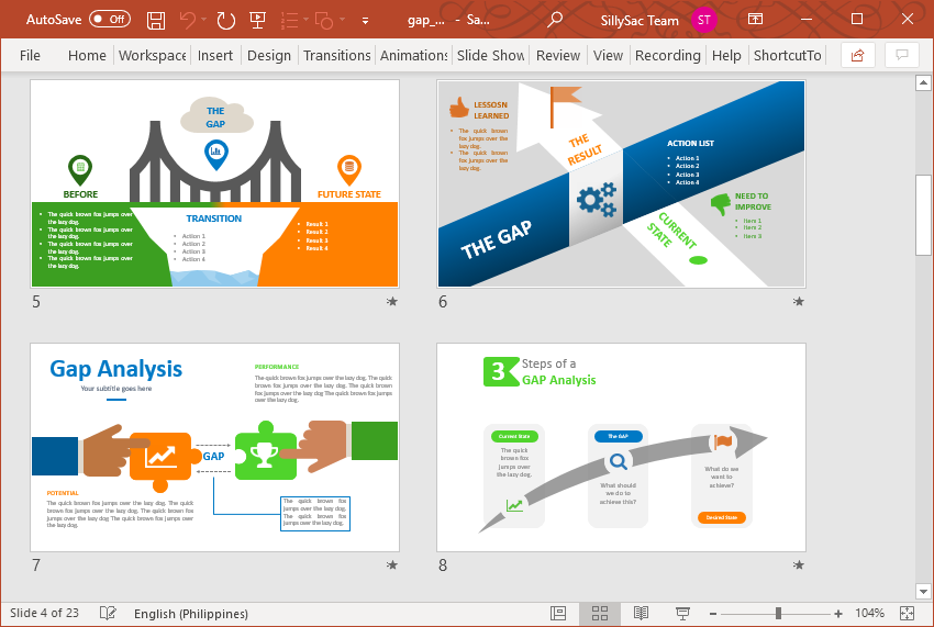 Find Multiple Layouts to Use for Your Next Presentation
