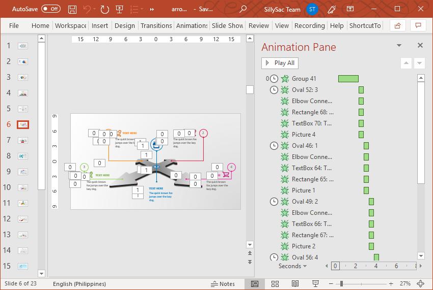 Premium Arrow Toolkit with Animated Slides