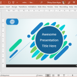 Awesome Colorful Presentation Template in PowerPoint