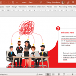 Chaos and Order Template for PowerPoint