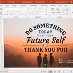 animated typography quotes powerpoint template