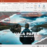 postcard powerpoint template