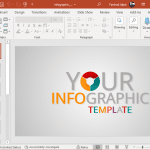 Animated infographic template for PowerPoint