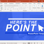 Heres The Point PowerPoint Template