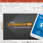 Animated ecommerce template for powerpoint