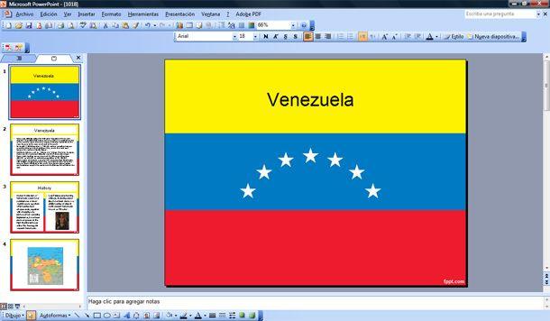 venezuela u0026 39 s flag ppt venezuela powerpoint template