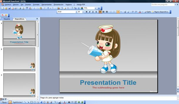 animated nursing powerpoint templates image collections