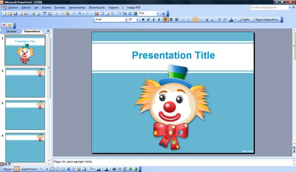 funny background powerpoint ppt template