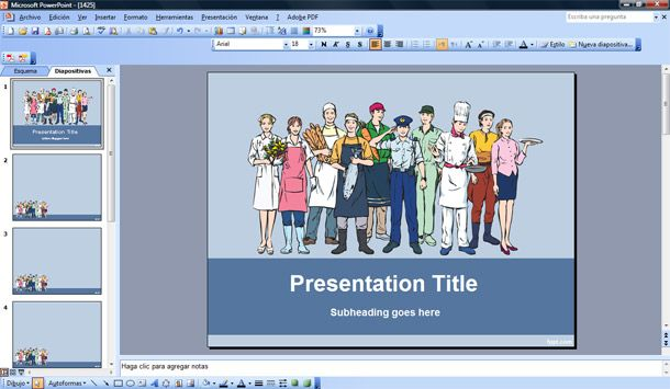 labor day powerpoint template