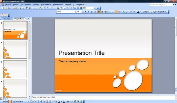 powerpoint presentation template samples