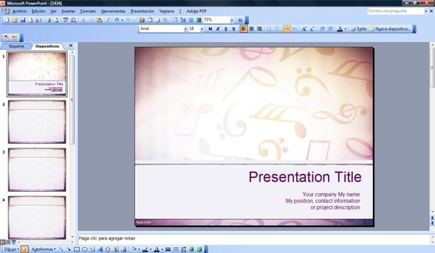 Free music powerpoint templates militaryalicious free music powerpoint templates toneelgroepblik Choice Image