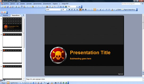death powerpoint