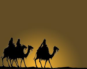 The Three Wise Men Templates PowerPoint