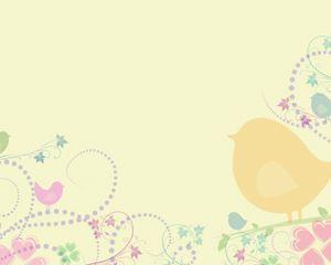 Free PowerPoint Templates Bird