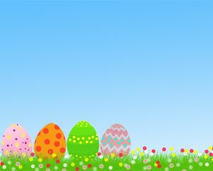 easter powerpoint template free powerpoint templates