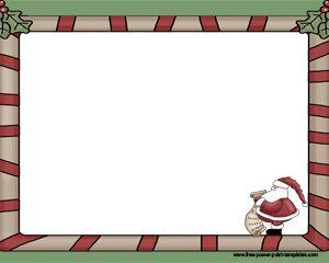 Santa Claus Letter powerpoint