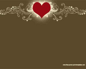 Cool Heart Powerpoint Design