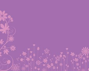 the flower backgrounds in ppt