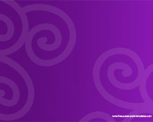 Violet PowerPoint Template PPT Template