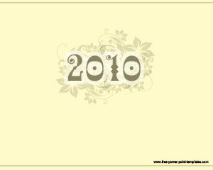 2010 template powerpoint