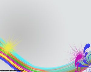 Rainbow Colors PowerPoint