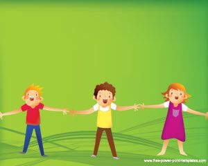 Children Powerpoint Szablony