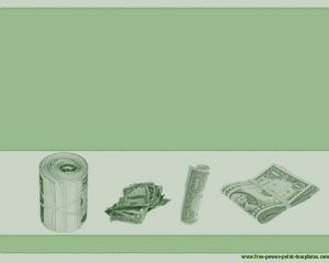 Dollars powerpoint template