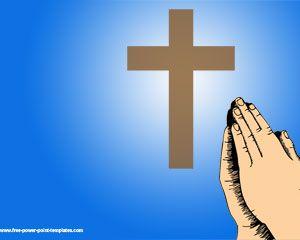 Pray Powerpoint Template
