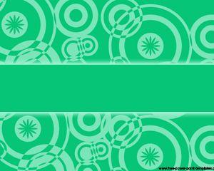 green retro power point