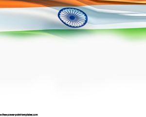 india flag power point presentation