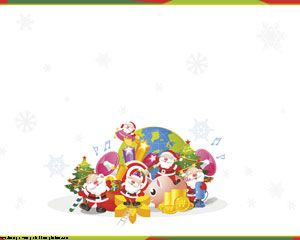 Santa Claus Template PowerPoint PPT