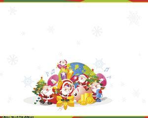 Papa Noel en el Mundo PPT PPT Template
