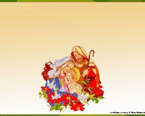 Nacimiento del niño Jesus PPT PPT Template