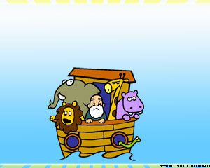 Noah Ark Powerpoint Template