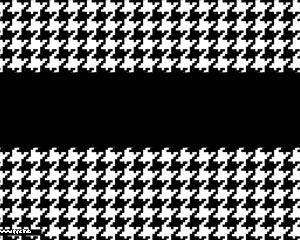 Black & White Pattern Powerpoint
