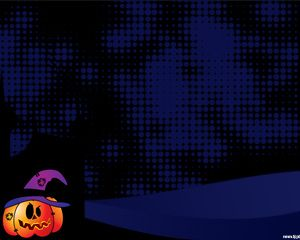 Halloween Pumpkins power point template